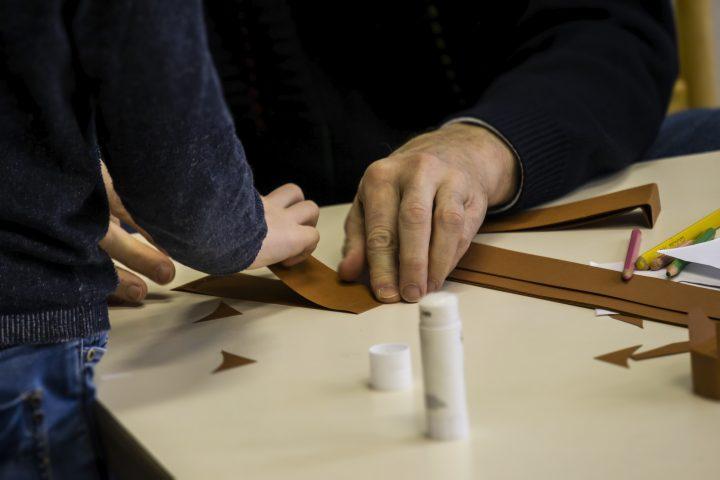 Helpende hand - knutselen