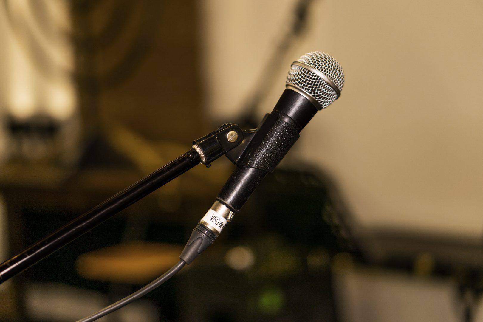 Zang microfoon VBG de Fontein