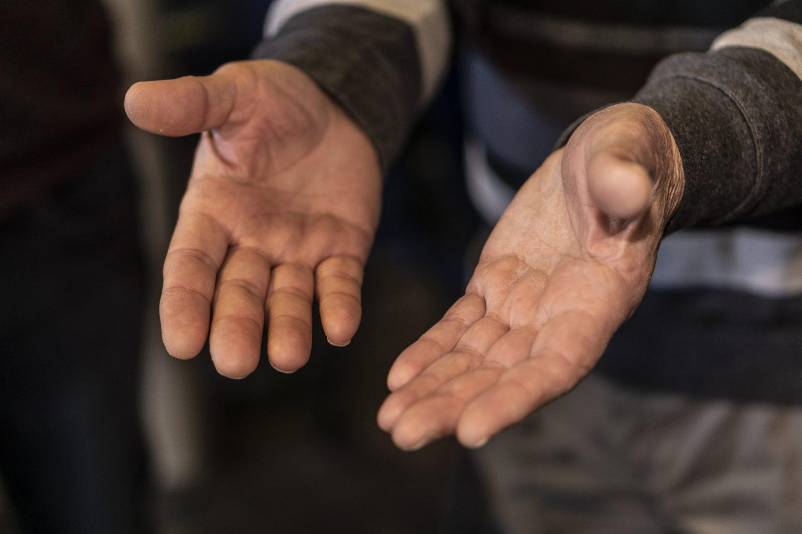 Gevende handen
