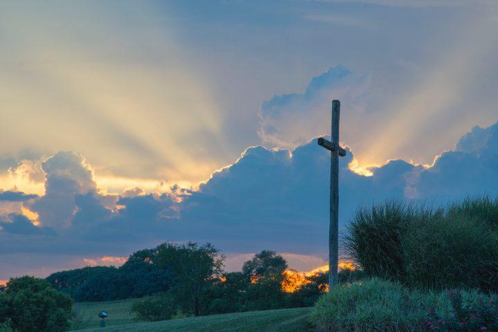 Het kruis op heuvelrug